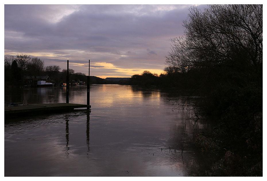 river trent sunset