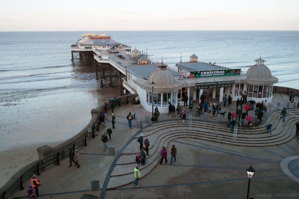 cromer Norfolk pier january first