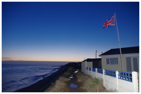flag new year dawn norfolk