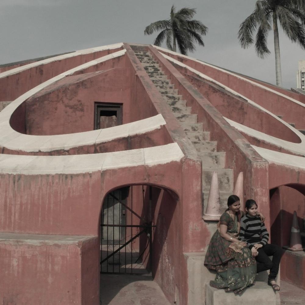 Jantar Mantar celestial observatory delhi india
