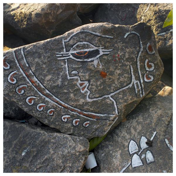 good luck fishing painted boulders kochi