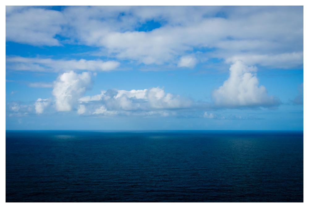 lights sea clouds atlantic ireland kerry