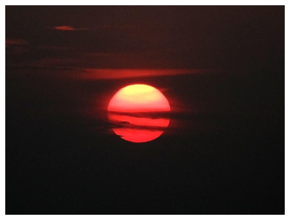 big sunset kerala red tropical dark