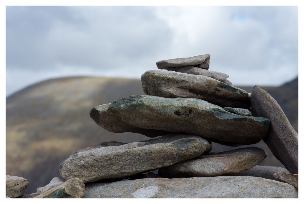 Rocks on top of Cairn, Kerry