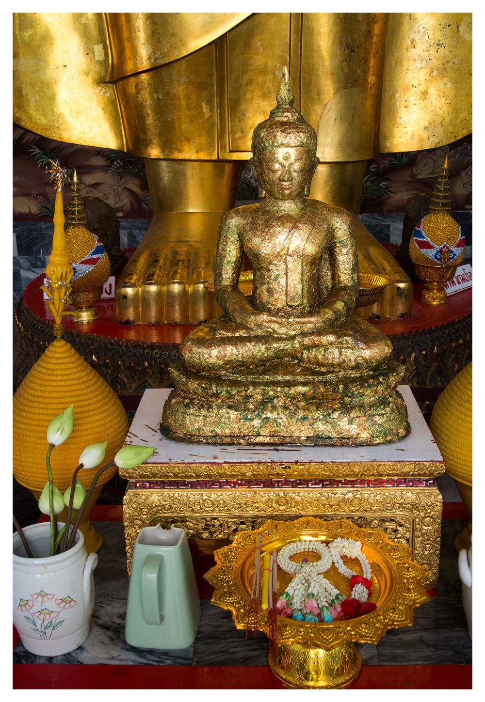 Golden Shrine Buddha Bangkok