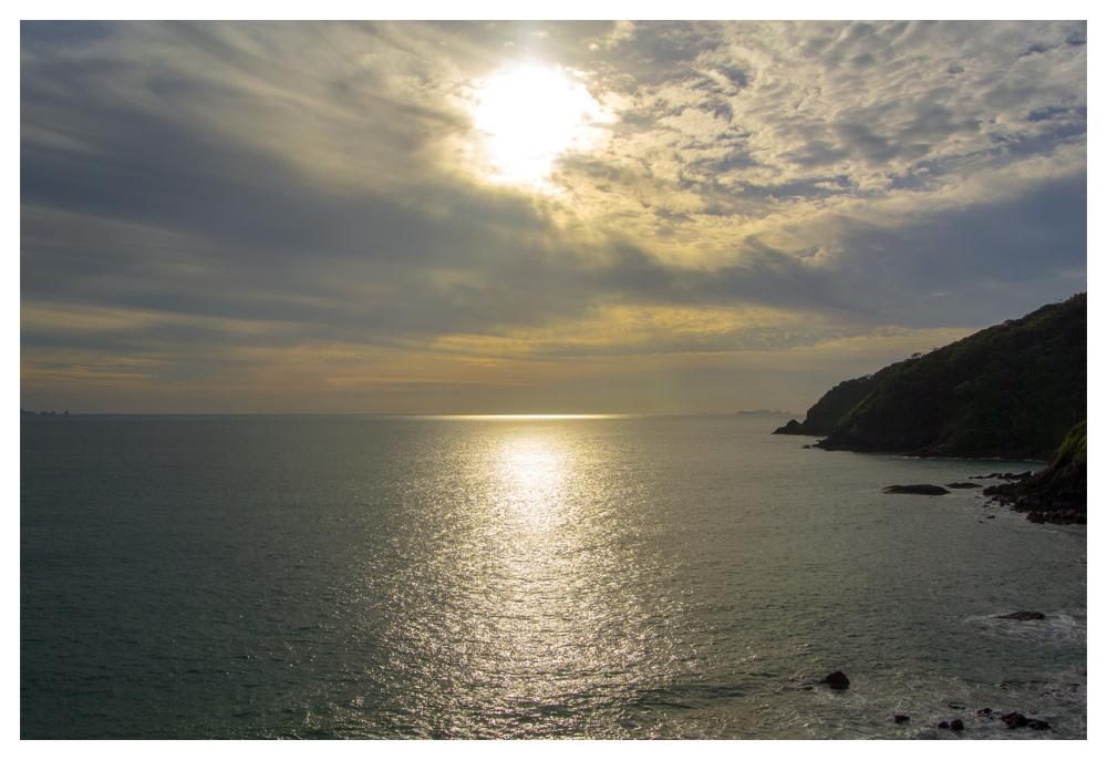 sunset jungle koh lanta southern tip