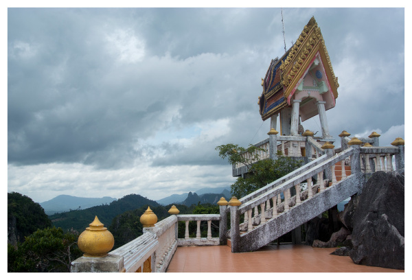 Mountain Temple, Krabi