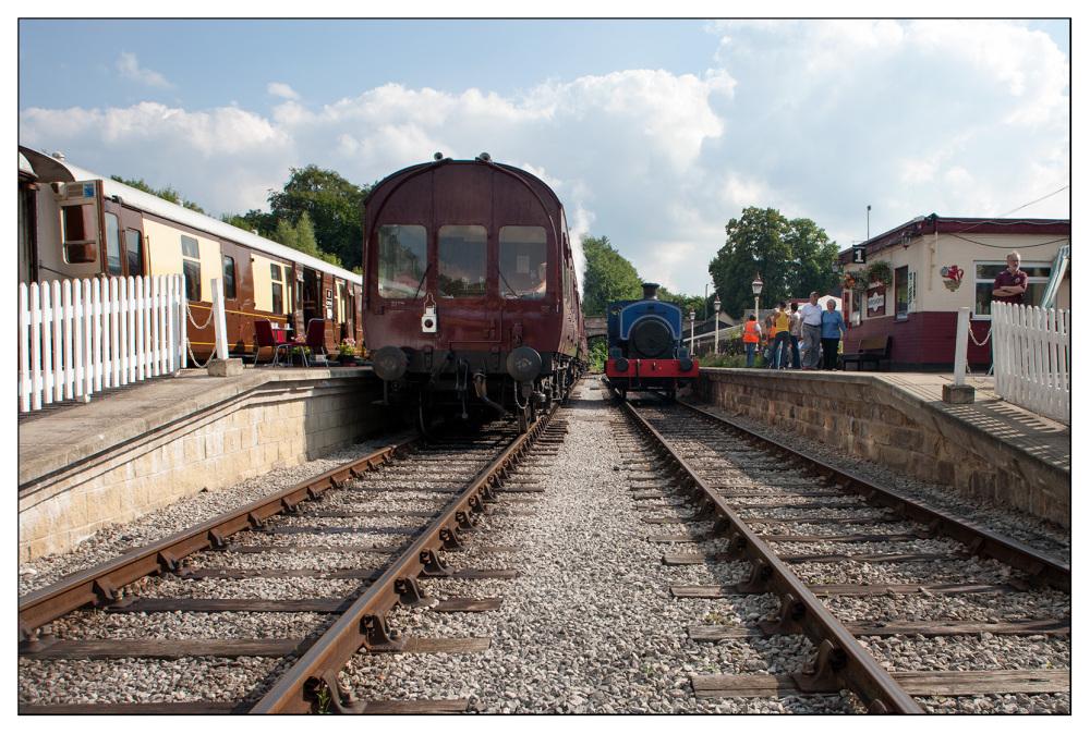railway steam wirksworth ecclesbourne valley