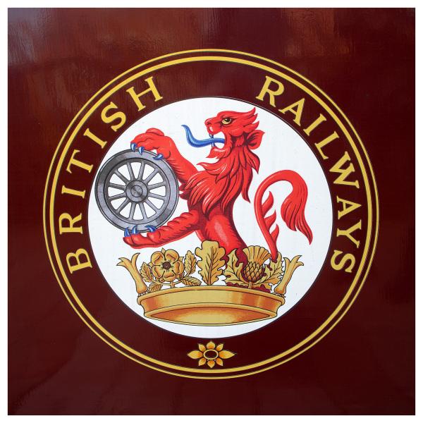 train logo detail wirksworth valley line