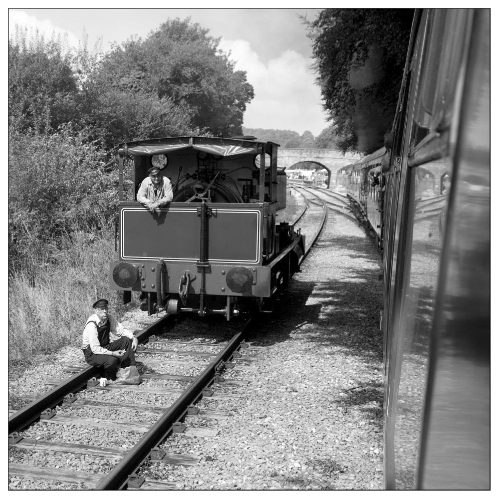 lunch break wirksworth valley railway steam train