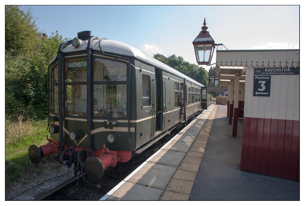 pretty train ravenstor wirksworth