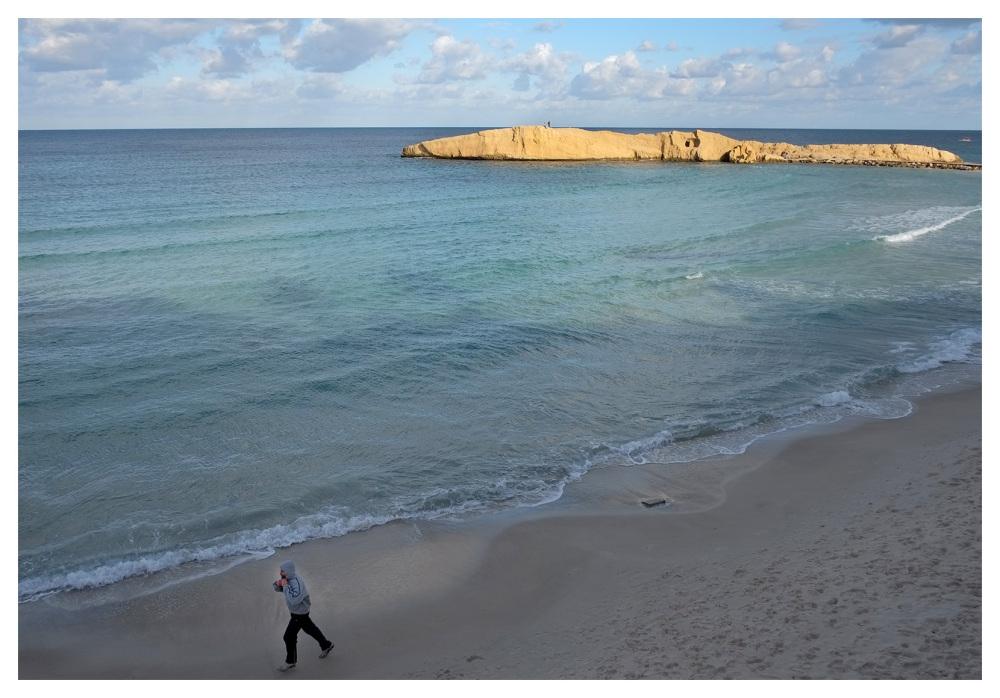 training beach monastir tunisia
