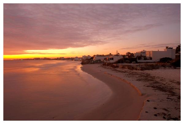sunrise new year day tunisia