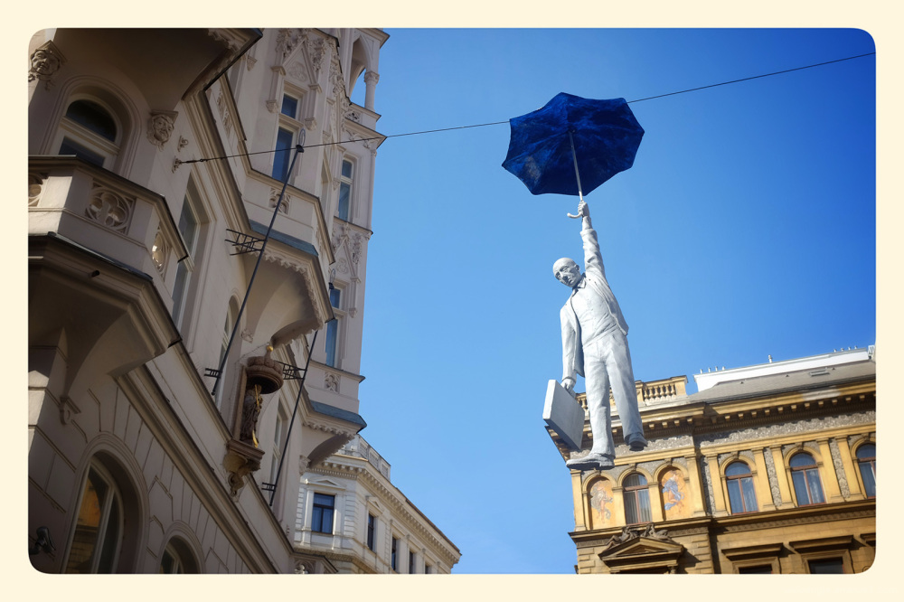 hanging around mary poppins prague