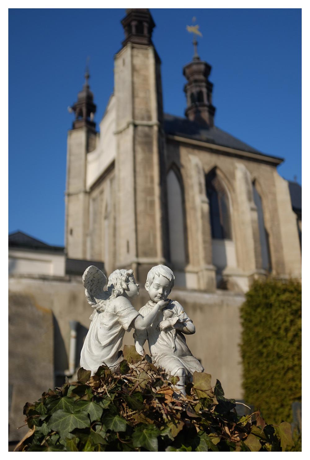 cherubs grave sedlec ossuary