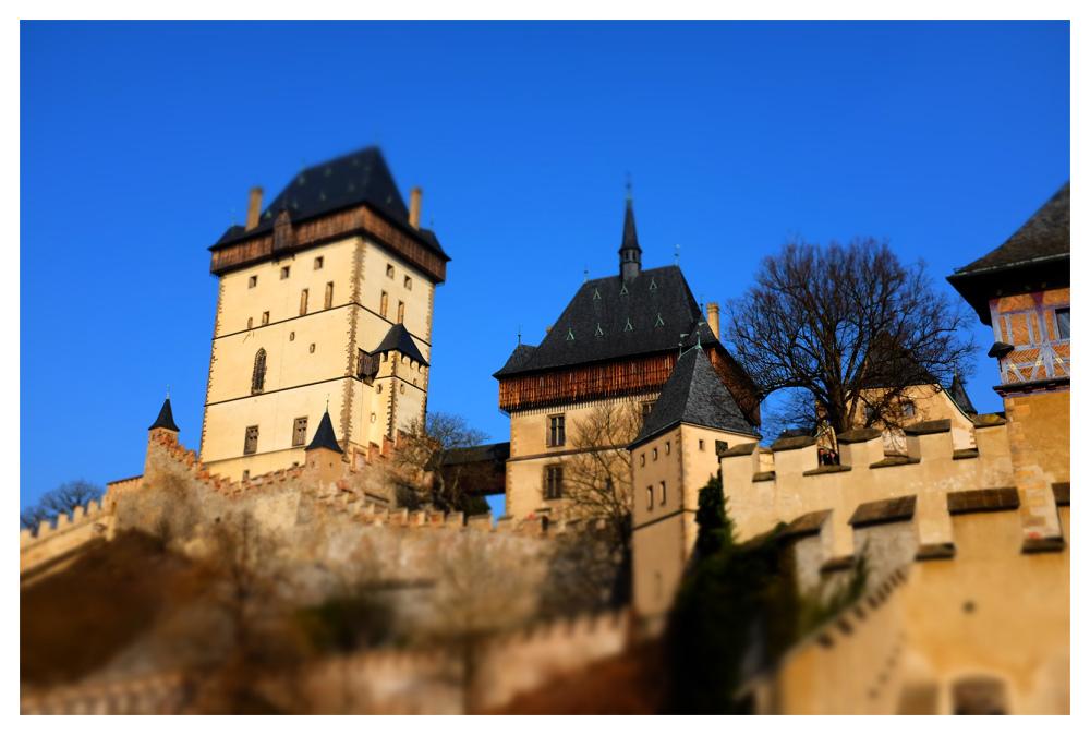 karlstein miniature effects czech republic
