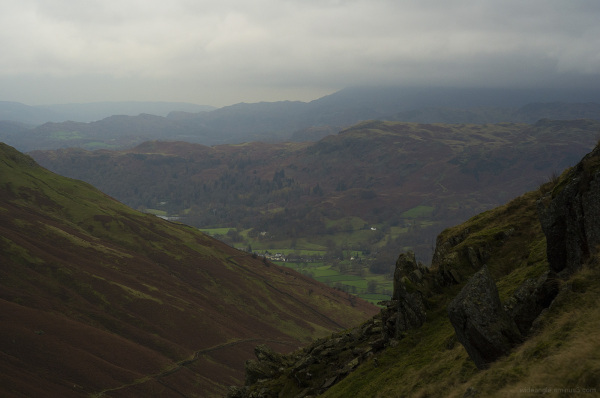 cumbria lakedistrict mountains cloudy moody