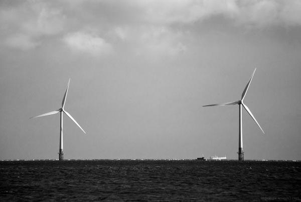norfolk seaside beachlife windfarm cloud