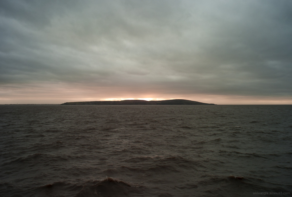sunset weston-super-mare new year