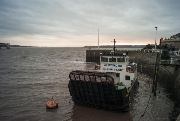 westward ho ferry weston-super-mare
