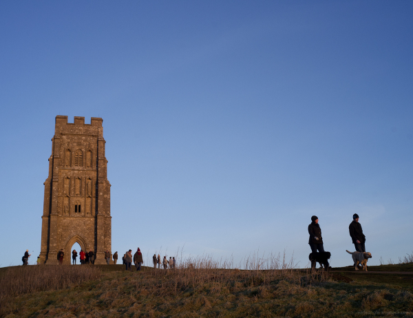 The Tor at Sunset