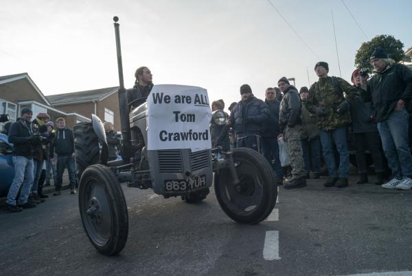 tom crawford demonstration evil banks