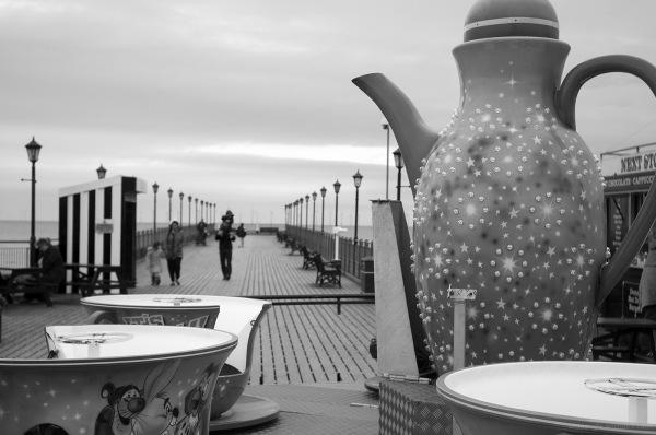 Teatime on Skegness Pier