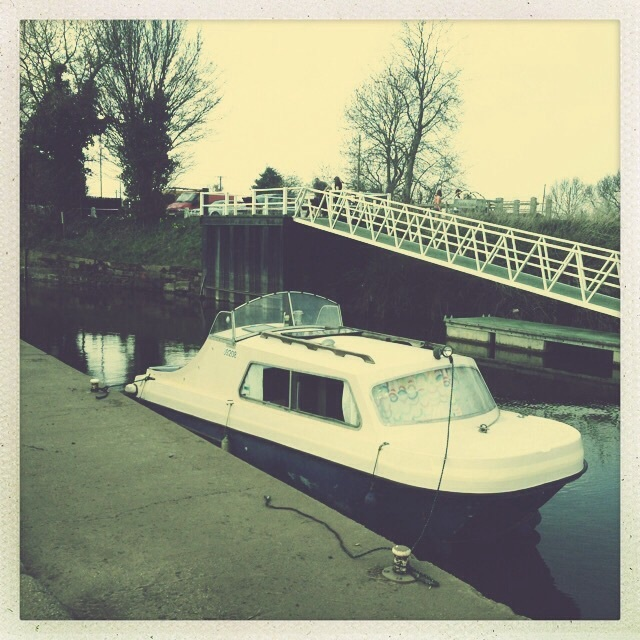 My boat Athelas on river trent