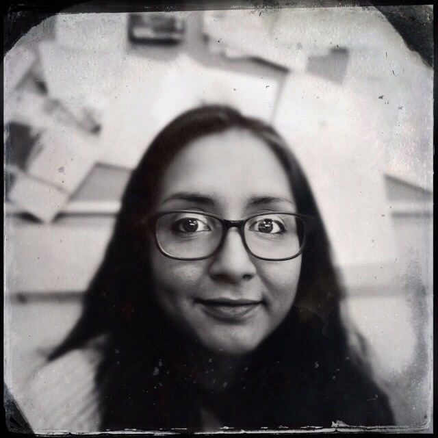 Fake tintype effect using hipstamatic iphone