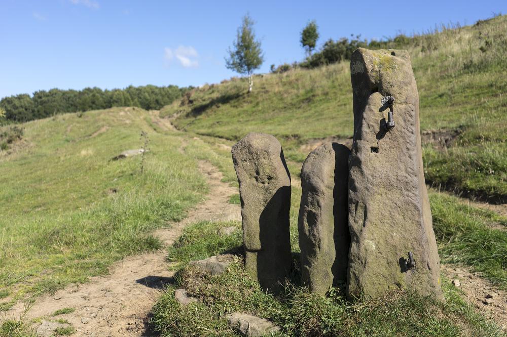 stone gate post derbyshire peak district
