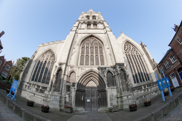 Newark on Trent Church by Fisheye