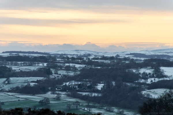 Wintery View from Stanton Moor