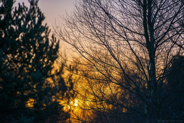 Nember Sunset, Stanton Moor