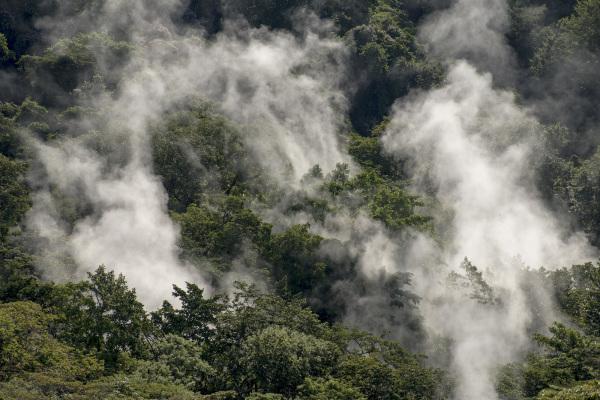 costa rica Rincón de la Vieja Volcano