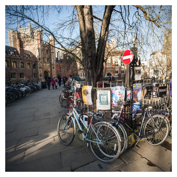 Bicycles & Clutter, Cambridge