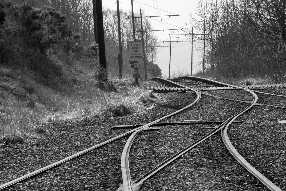 tram tracks crich