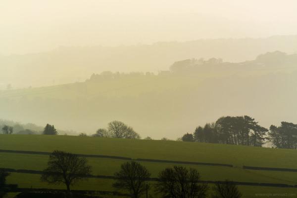 hues colours landscape derbyshire