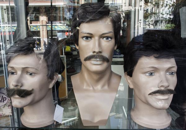 Valencia moustache ashion funny city urban