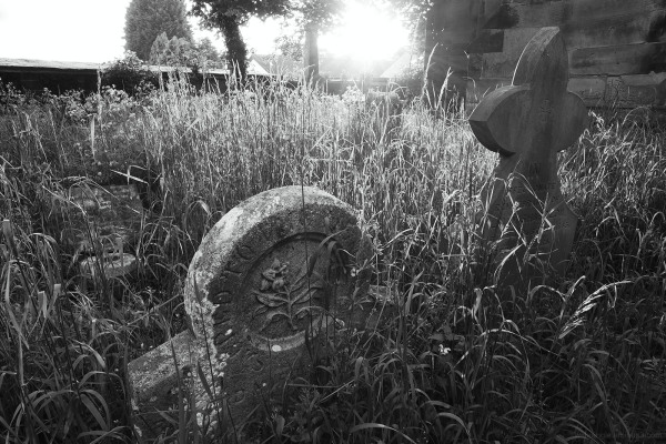 abandoned gravestones shardlow church