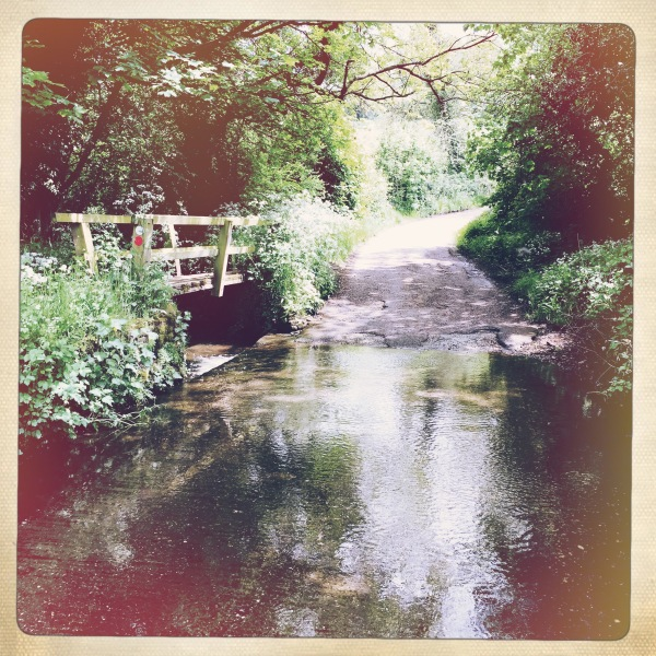 An Old Stream Ford at Blackbrook