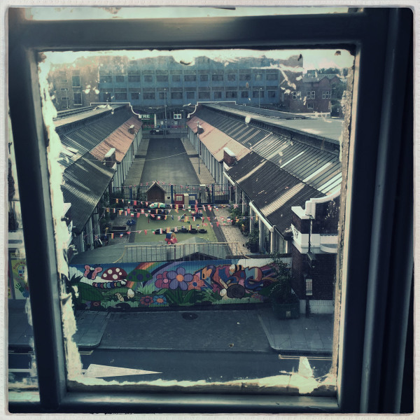 Sneinton Markets from Surface Gallery, Nottingham