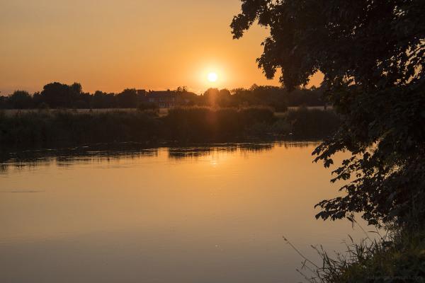 River Trent, Shardlow at Sunset