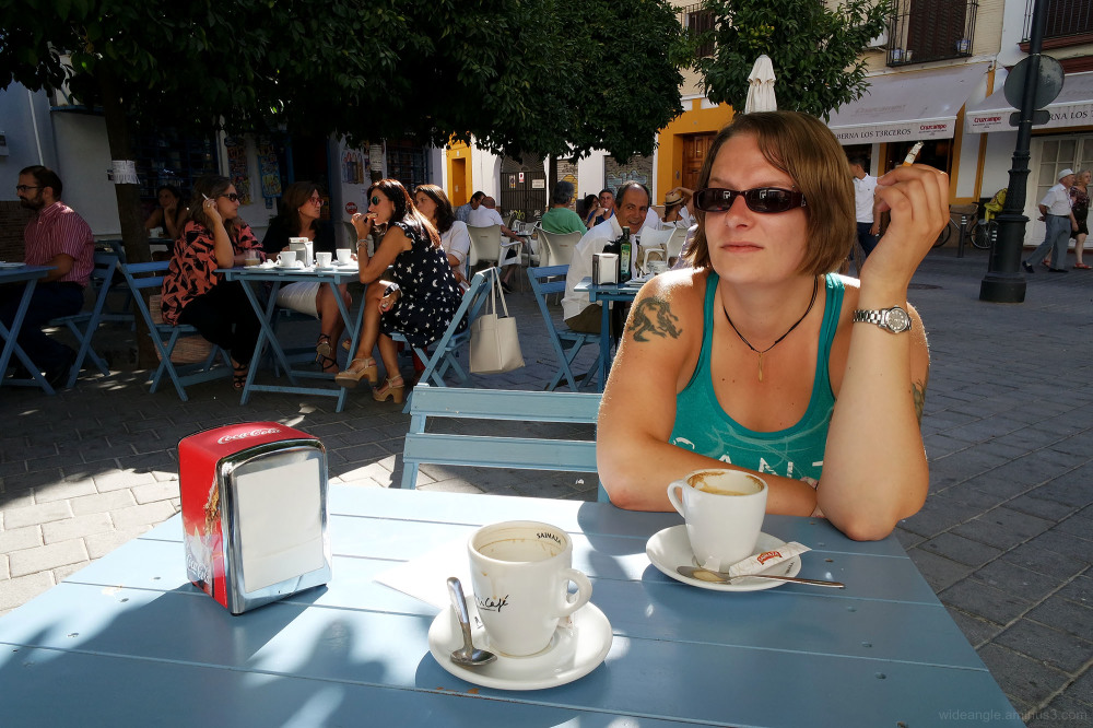 cafe culture karen seville coffee morning spain