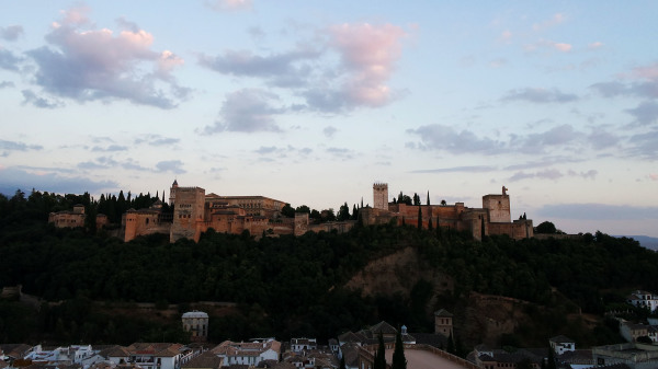 Alhambra at Dusk