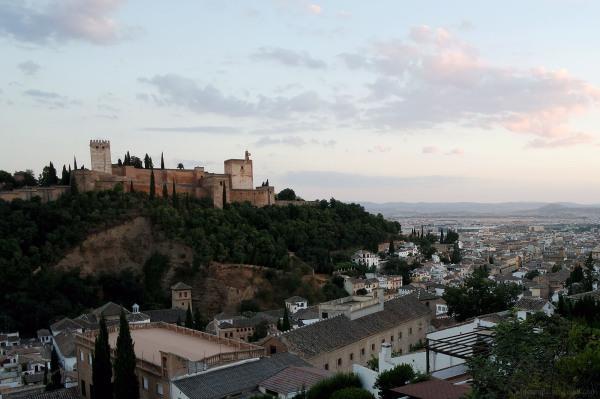 Alhambra near Dusk