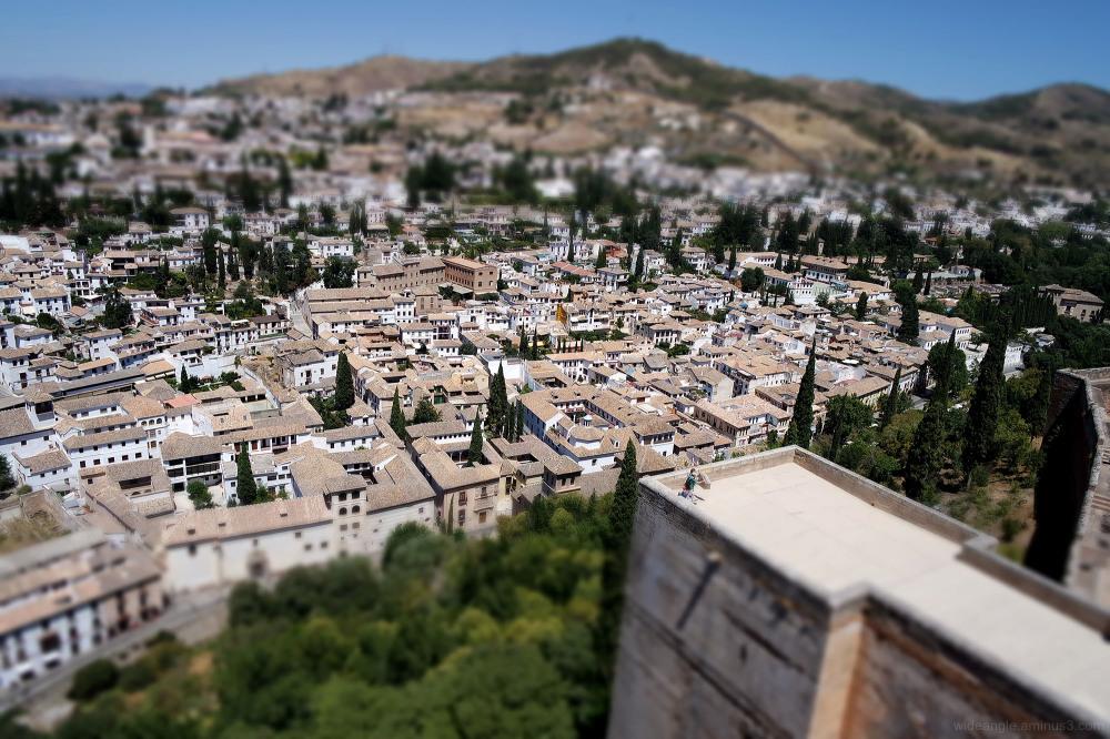 granada miniatures cityscape