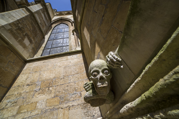 Gargoyle on Lincoln Cathedral