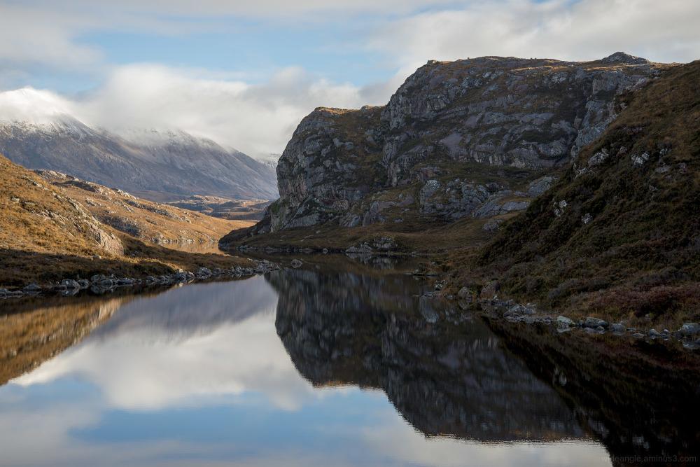 scotland sky mountain sea