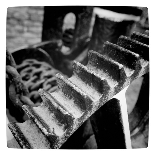 Cogs on a Canal Crane