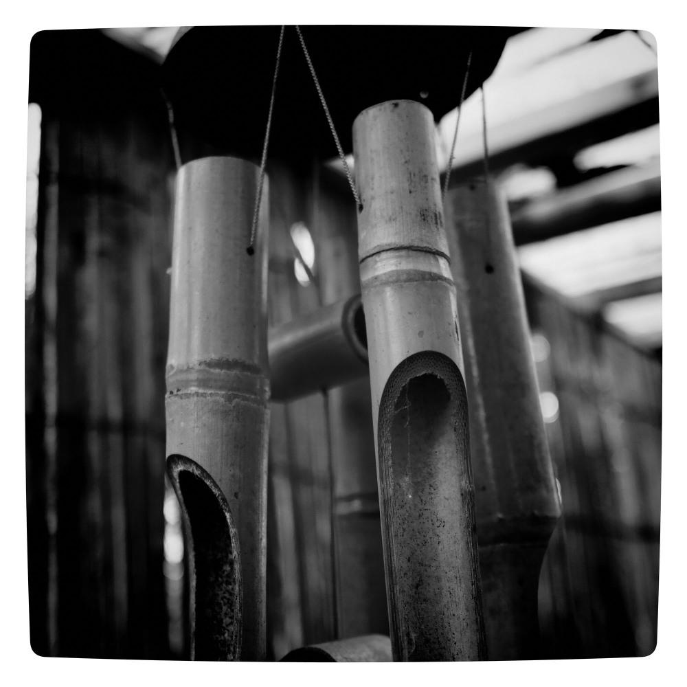 bamboo chimes garden belper